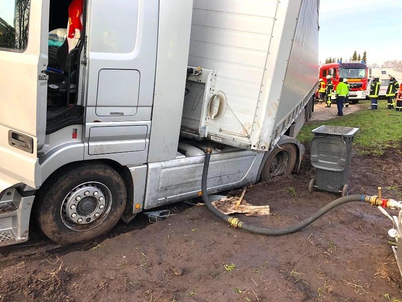 Technische Hilfeleistung - Ölschaden