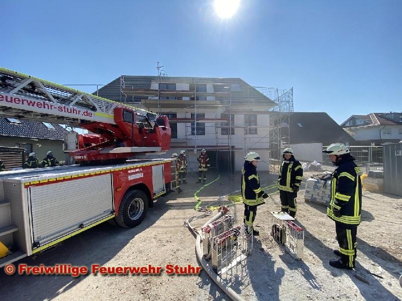 Brandeinsatz - Gebäudebrand